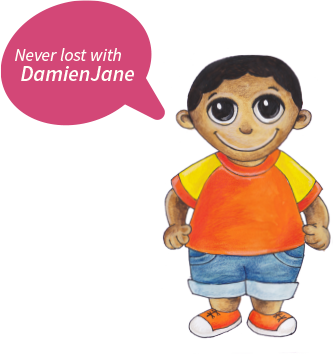 Never lost with DamienJane